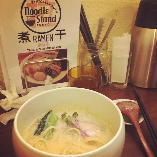 Gluten free ramen at Tokyo Noodle Stand