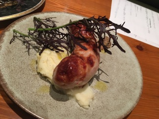 Homemade sausages at Oink Oink, Kanazawa