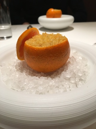 Delicious intricate food at Hommage