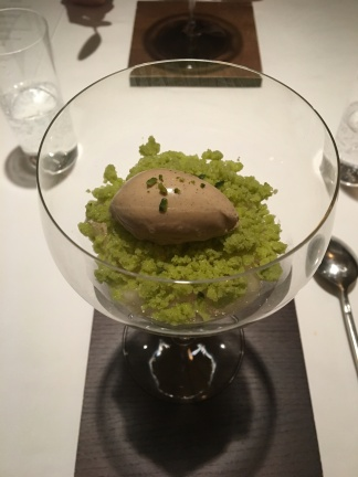 Delicious dessert at Hommage, Tokyo